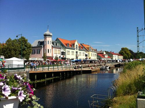 market-in-ronneby-sweden